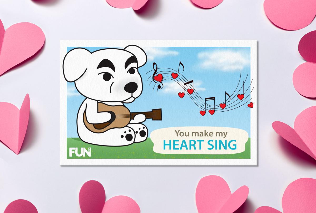 Animal Crossing Valentine