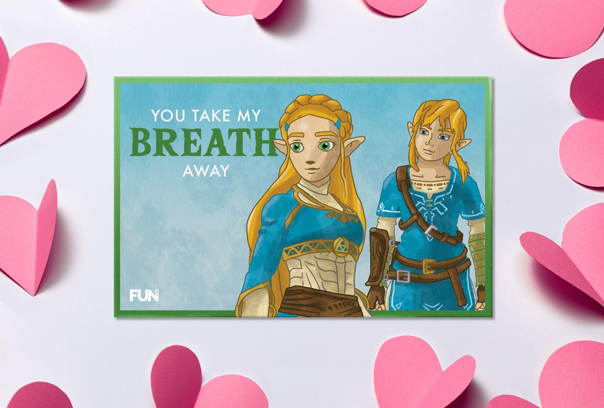 The Legend of Zelda: Breath of the Wild Valentine