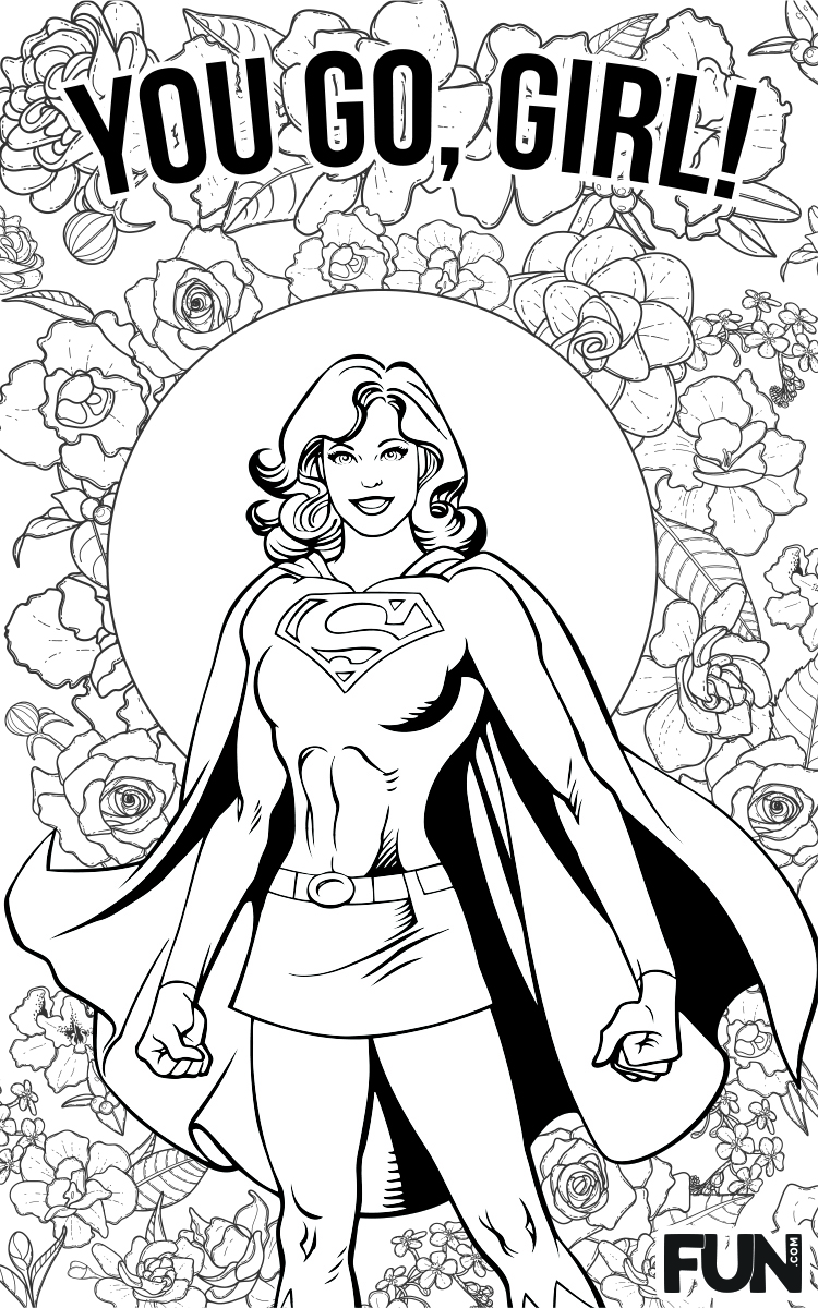Mother's Day Supergirl Card
