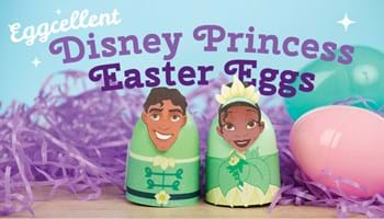 Eggcellent Disney Princess Easter Eggs