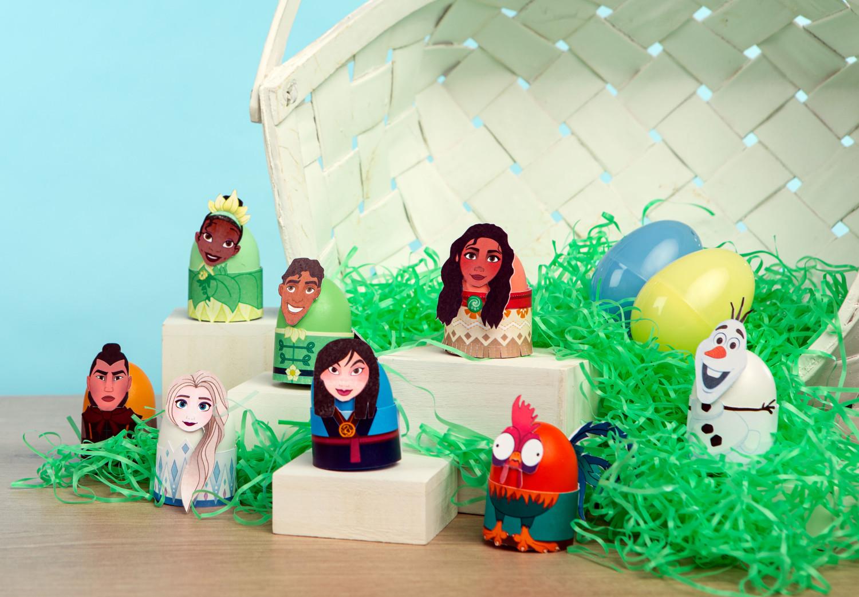 Disney Character Easter Eggs