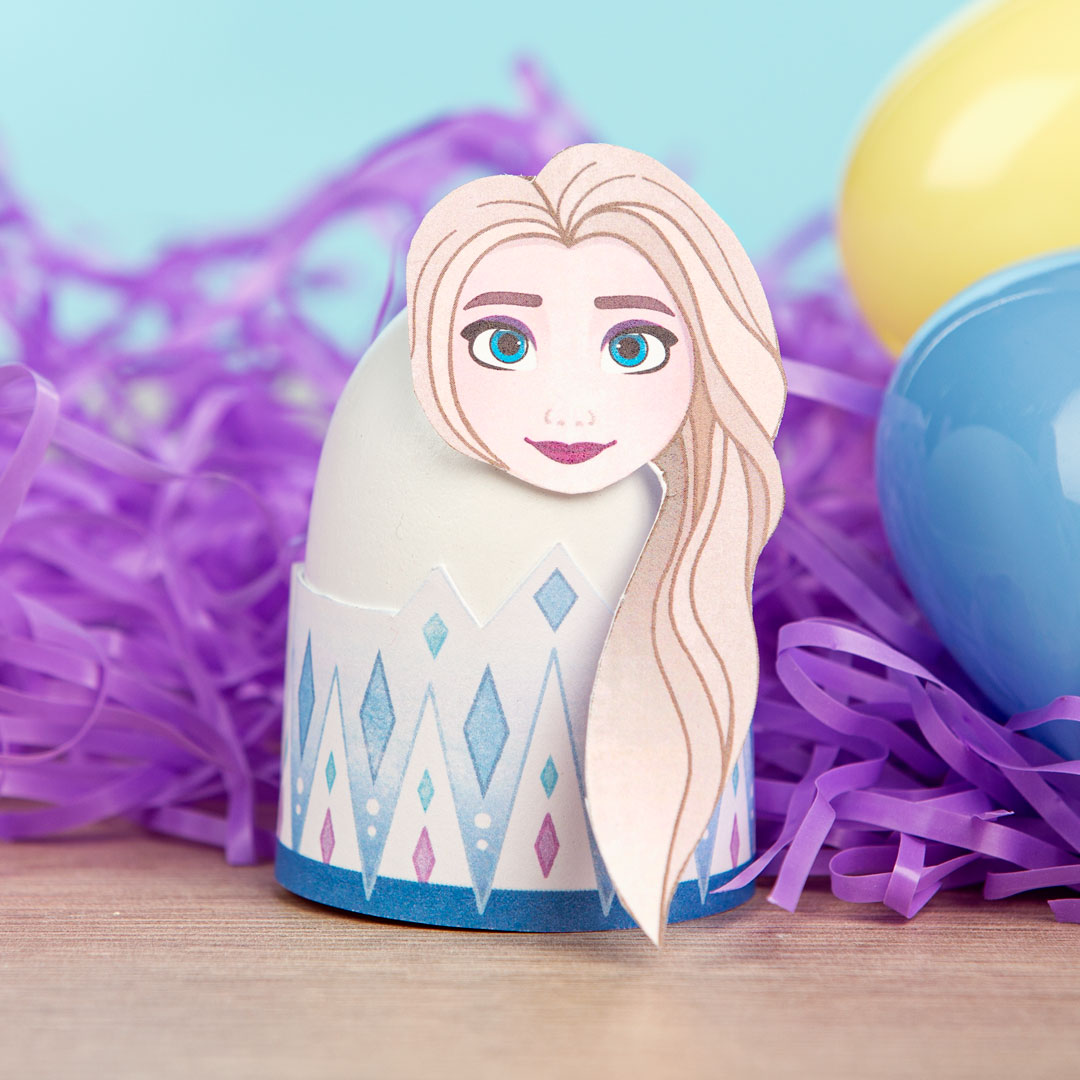 Printable Elsa Easter Egg