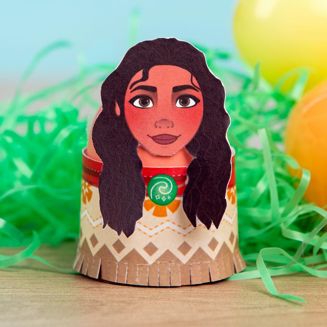 Printable Moana Easter Egg