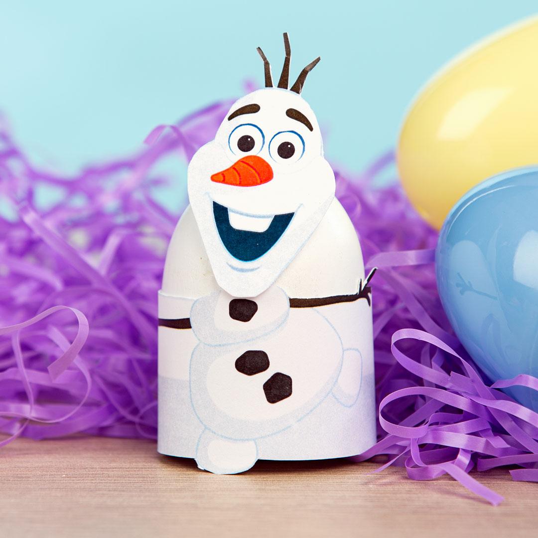 Printable Olaf Easter Egg