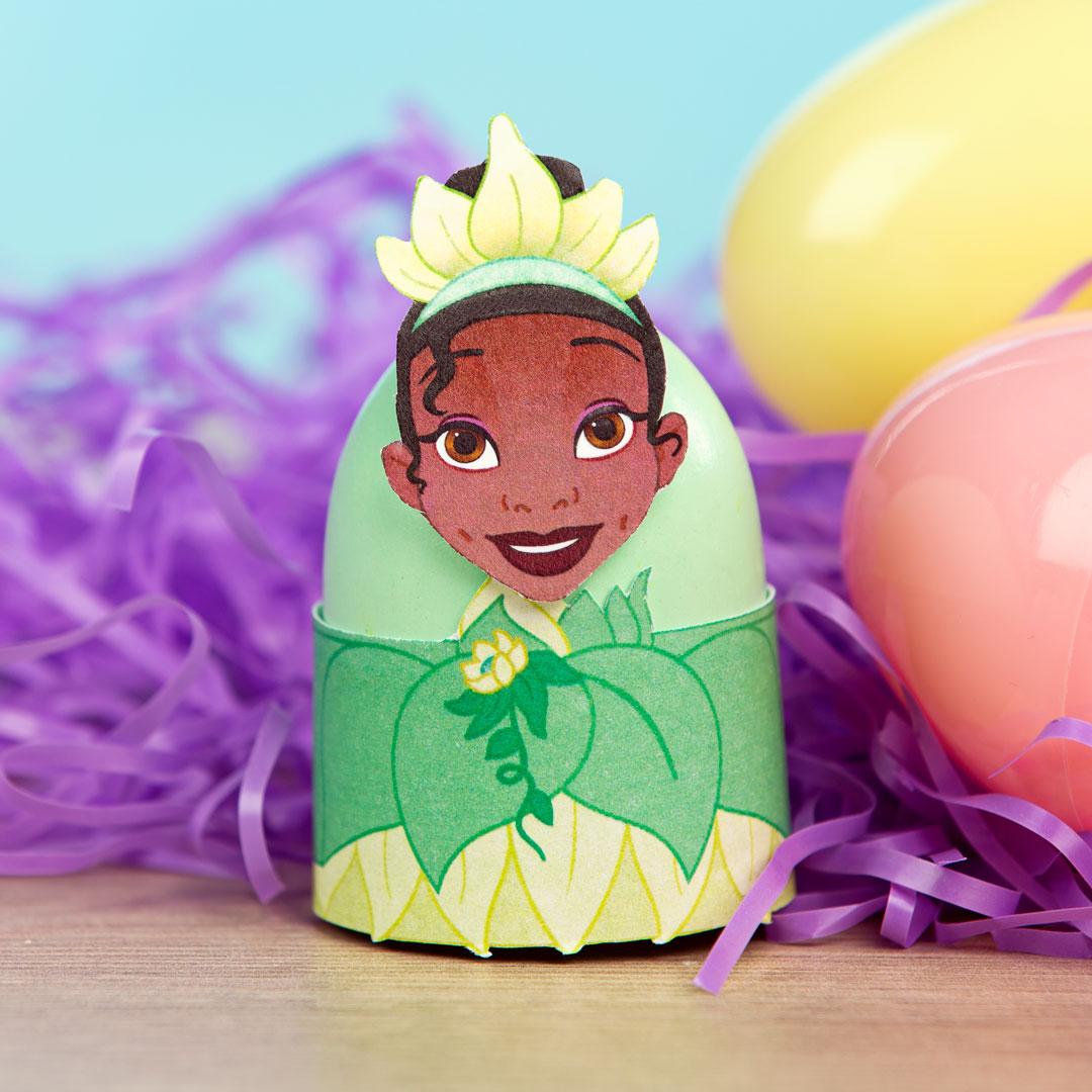 Printable Tiana Easter Egg