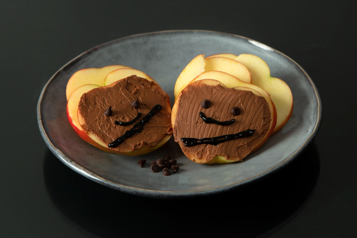 Chewbacca Apple Slices
