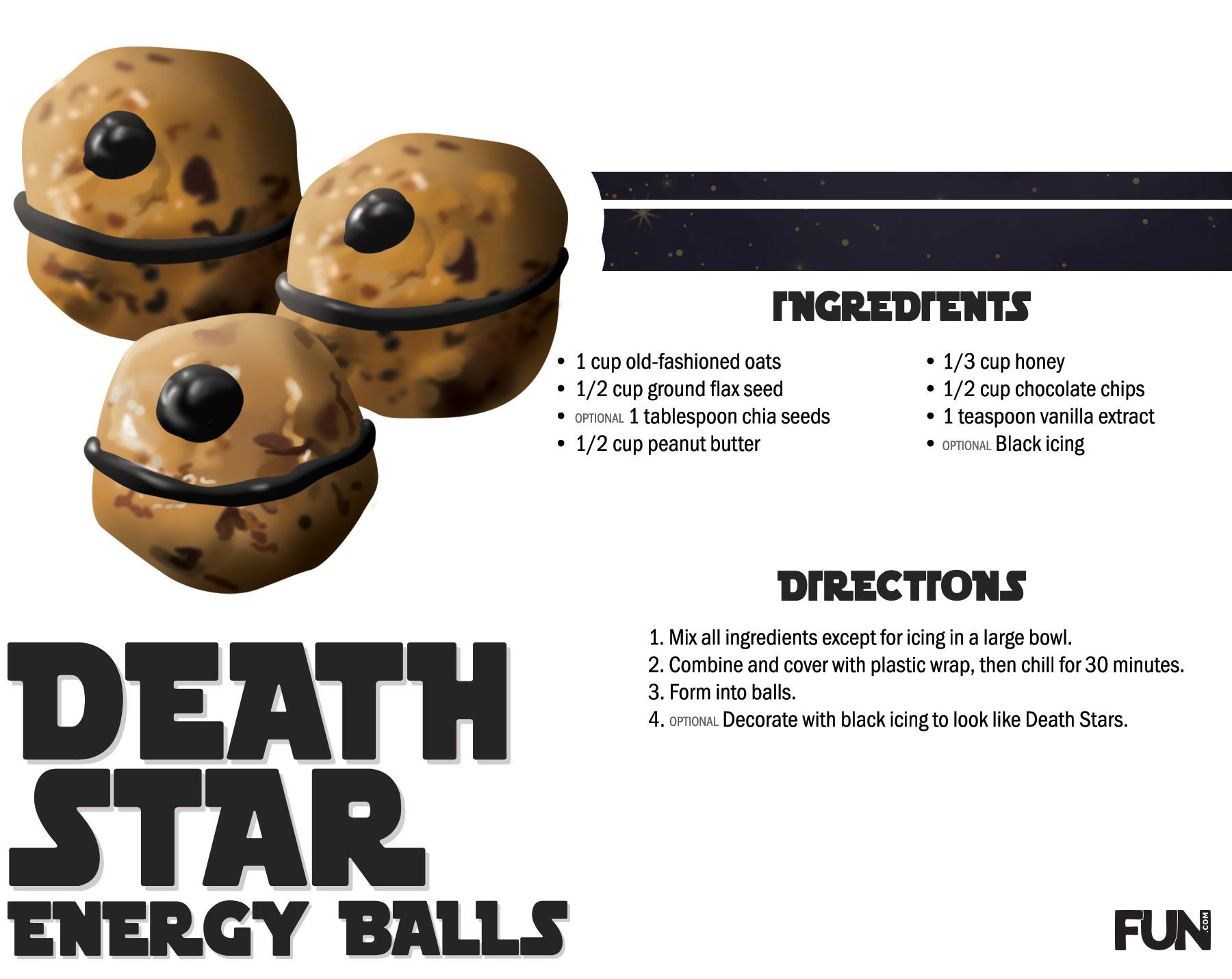 Death Star Energy Balls Recipe