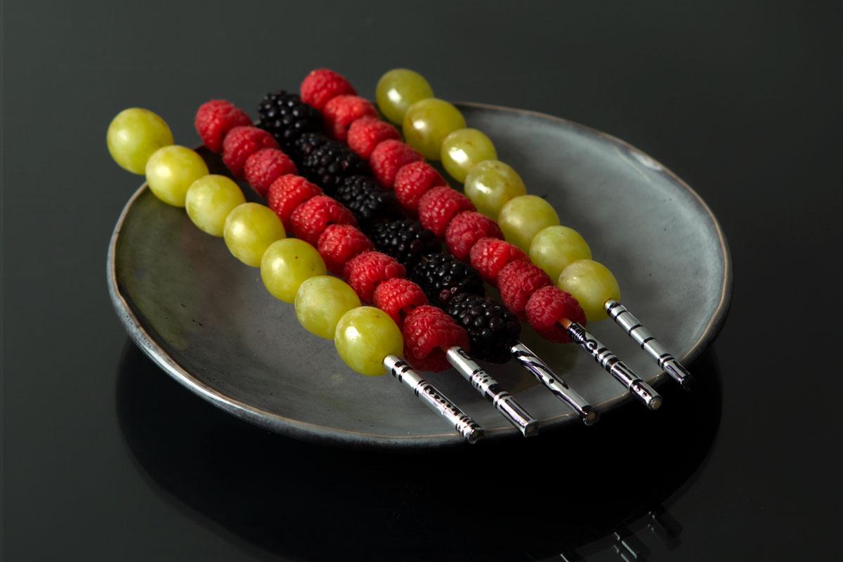 Fruit Kabob Lightsabers
