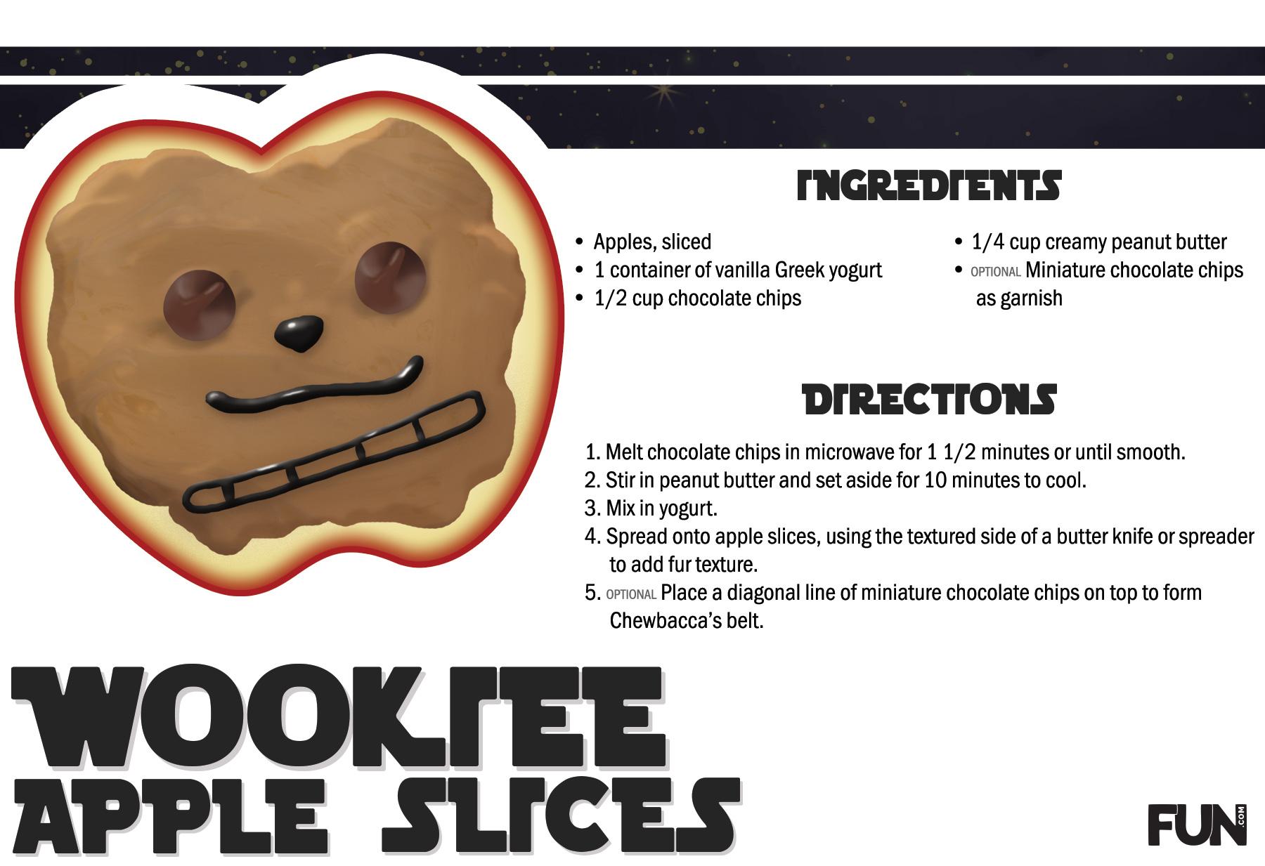 Wookiee Apple Slices Recipe