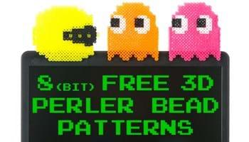 8(bit) Free 3D Perler Bead Patterns