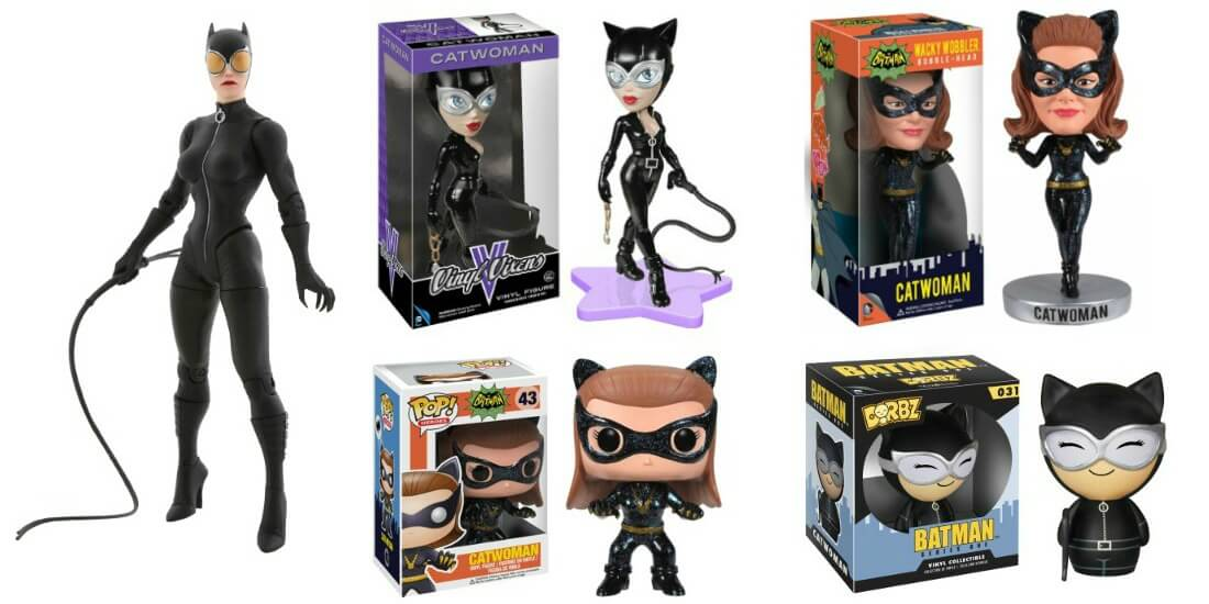 Catwoman Toys and POP! Vinyl Figures