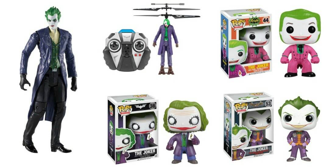 The Joker Toys and POP! Vinyl Figures