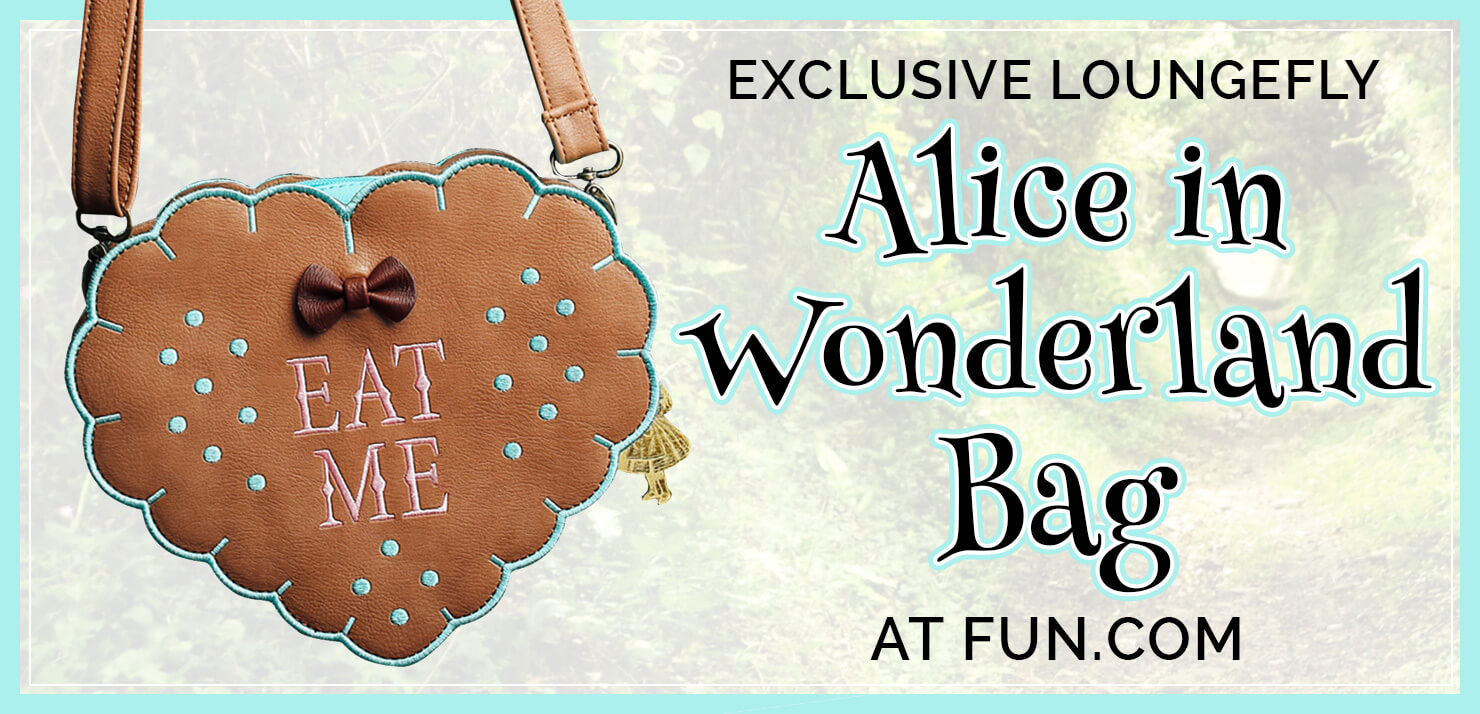 Exclusive Alice in Wonderland Purse Header