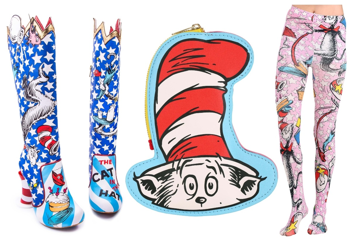 Irregular Choice Cat in the Hat Collection