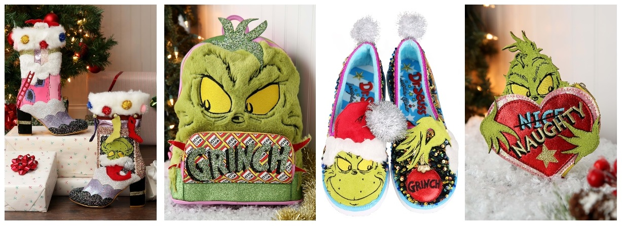 Irregular Choice The Grinch Collection