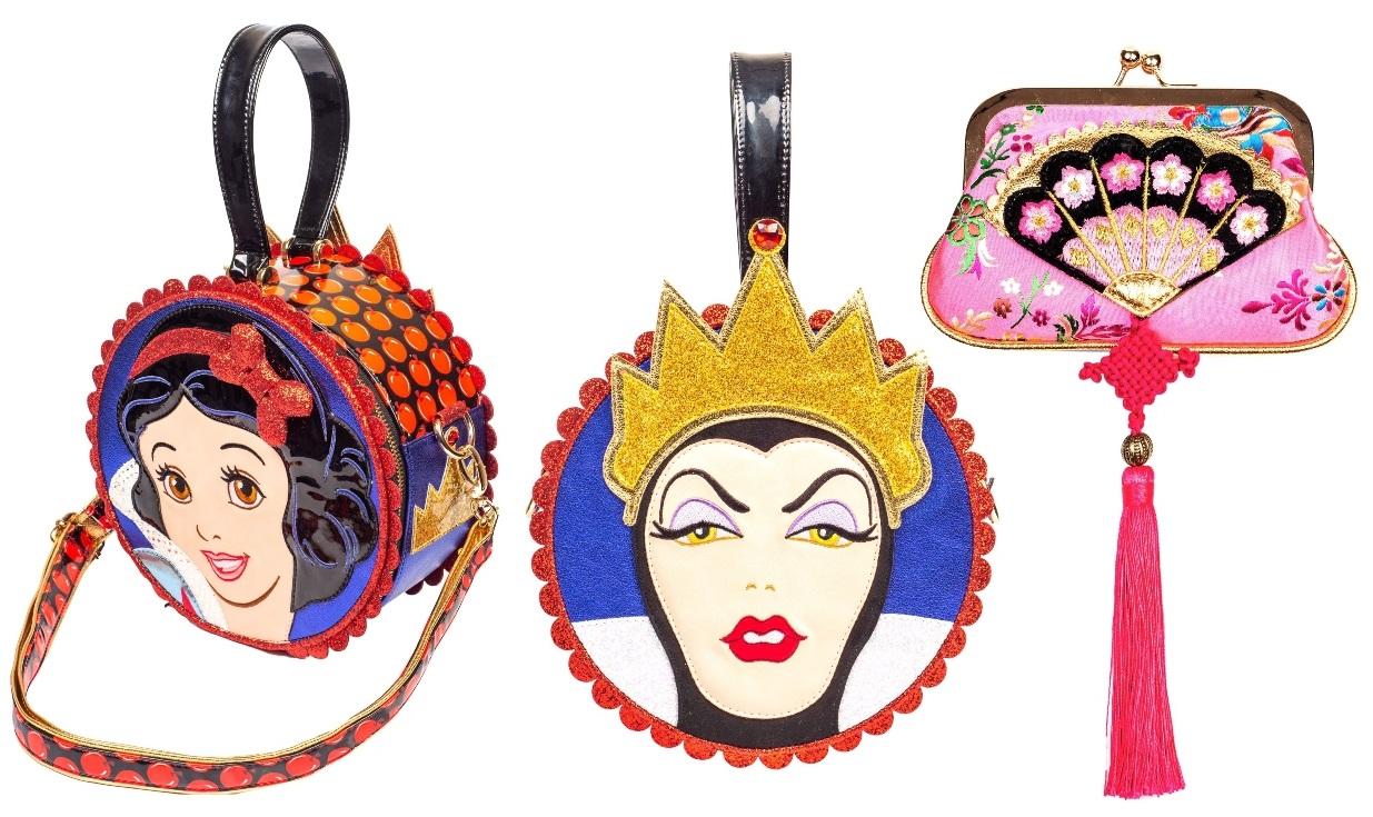 Irregular Choice Mulan and Snow White Collection