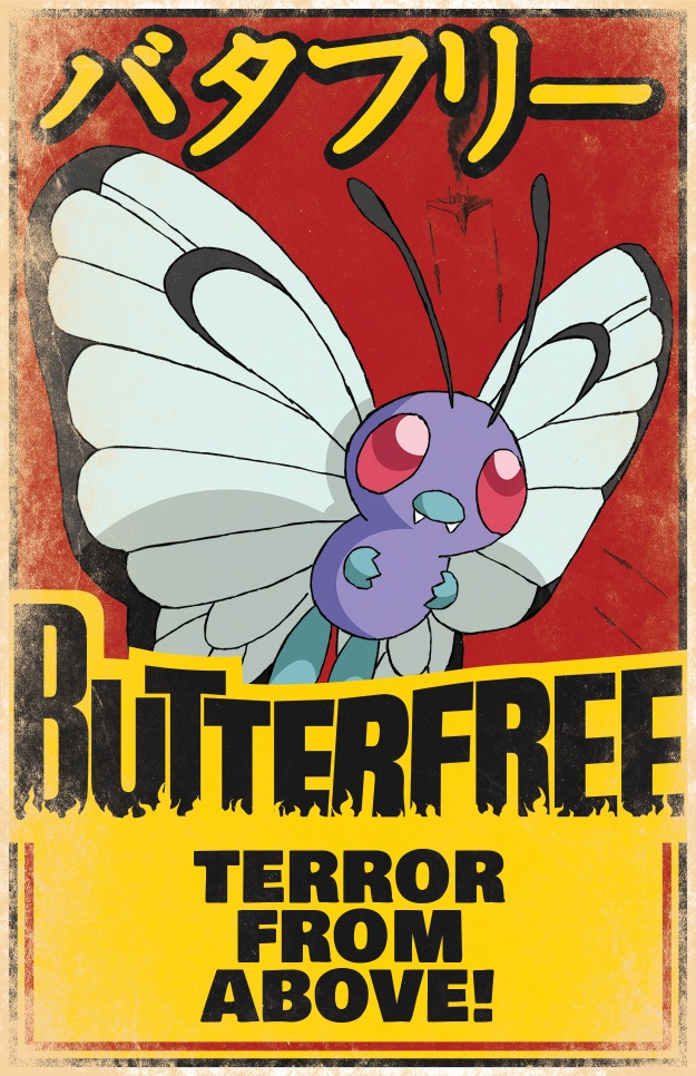 Butterfree Movie Poster