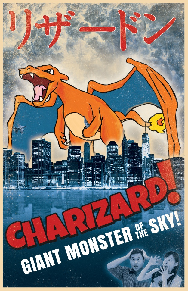 Charizard Movie Poster