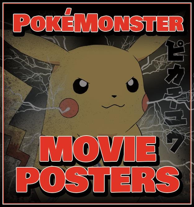 Pokemon Movie Posters