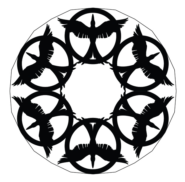 Hunger Games Mockingjay Snowflake