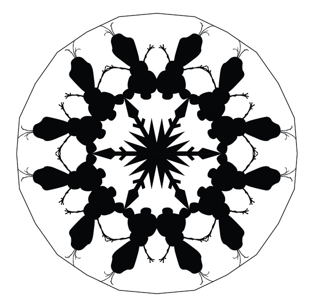 Olaf Snowflake Printable