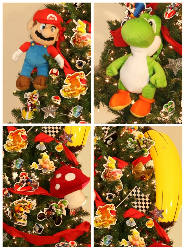 Mario Kart Theme Christmas Tree - Pop Culture Christmas Trees