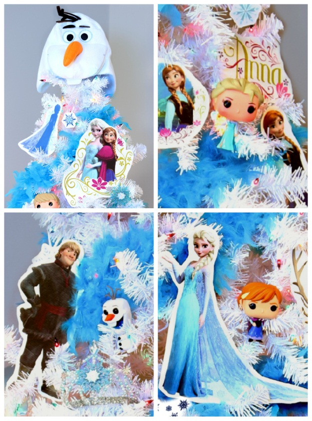 Frozen Theme Christmas Trees - Pop Culture Christmas Trees
