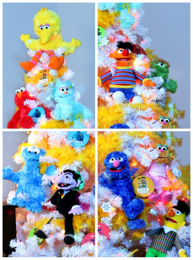 Sesame Stree Theme Christmas Tree - Pop Culture Christmas Trees
