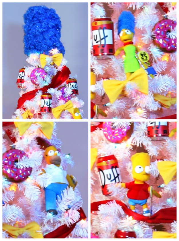 The Simpsons Theme Christmas Tree - Pop Culture Christmas Trees