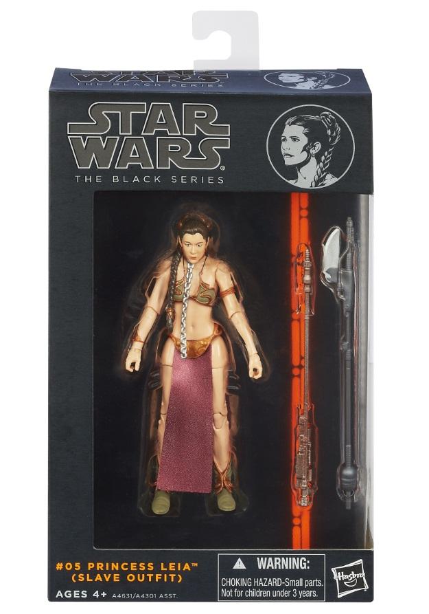 Star Wars Black Series Slave Leia In Box