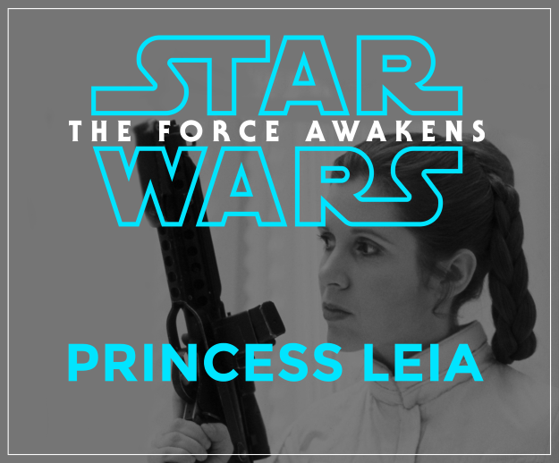 Star Wars Episode VII The Force Awakens Leia Organa
