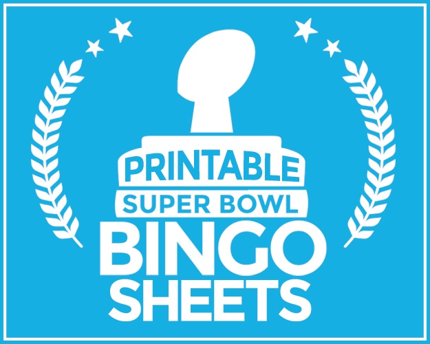 Super Bowl Bingo Cards
