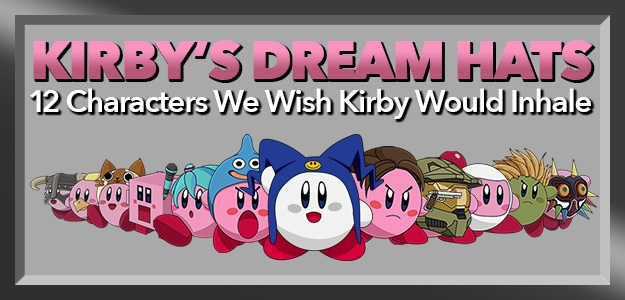 kirby s dream hats 12 characters we wish kirby would inhale fun blog