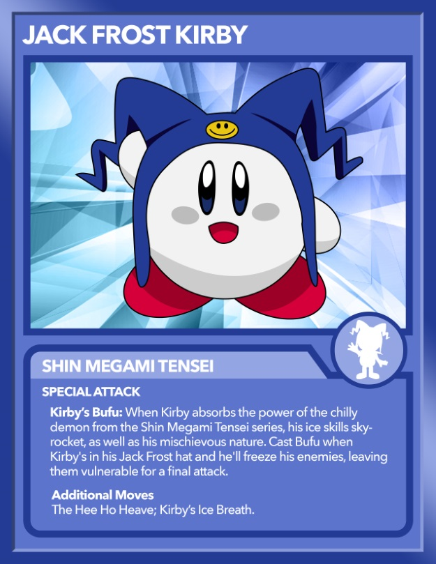 Kirby as Jack Frost from SMT