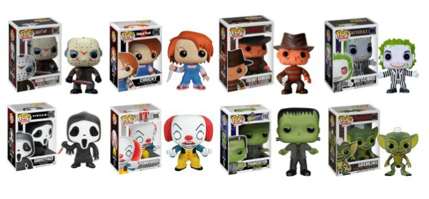 Funko Pop Vinyl Horror Movie Characters