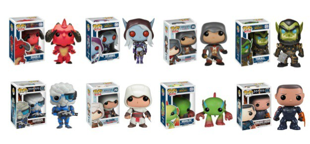 Funko Pop Vinyl Video Game Characters