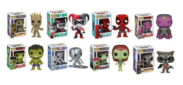 Funko Pop Vinyl Comic Book Characters