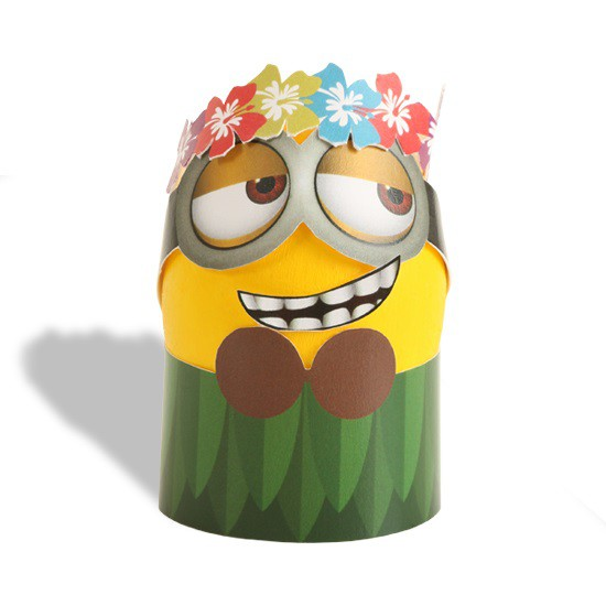 Hawaiian Hula Minion