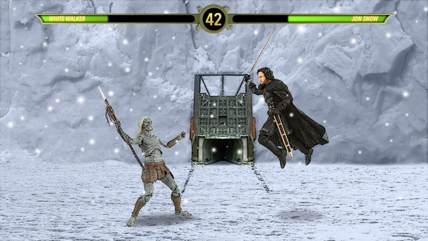 Jon Snow versus White Walker MKX Mashup