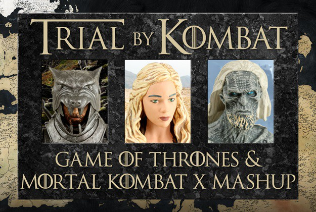 Game of Thrones and Mortal Kombat mashup
