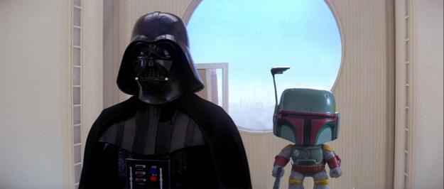 Star Wars Boba Fett Pop Photobomb