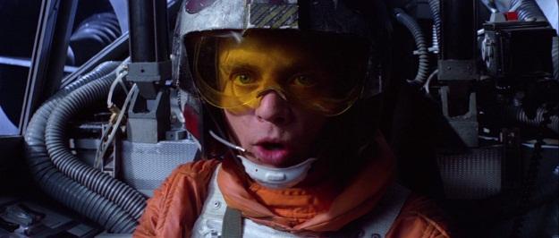 Luke Skywalker Film Still