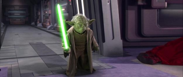 Star Wars Yoda Film Still