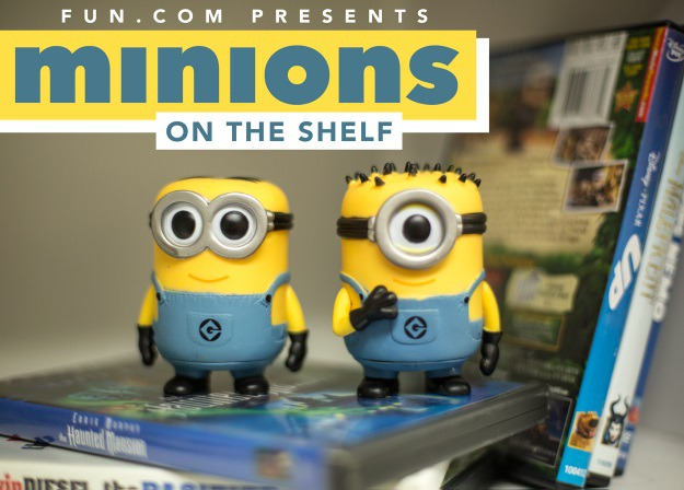 Minion on the Shelf Ideas