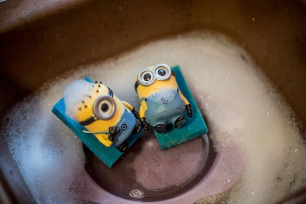 Minions in the Sink