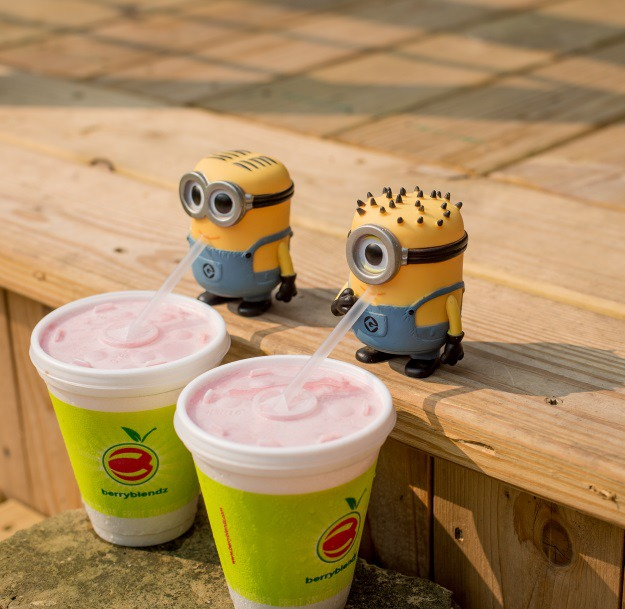 Minions Drinking Smoothies