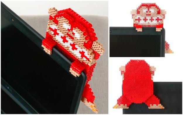 Hanging Donkey Kong Perler Beads