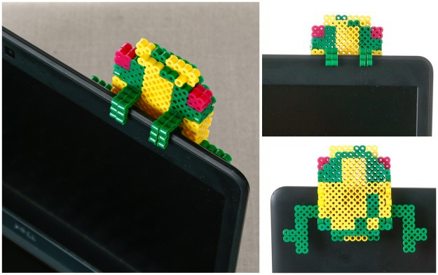 Hanging 3D Frogger Beads