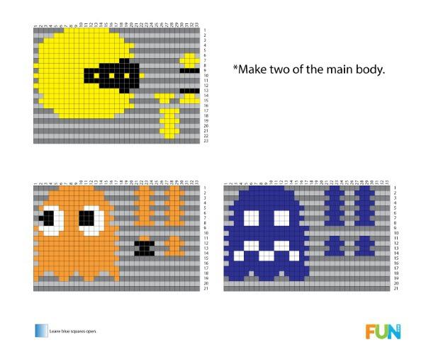 3d Pac-Man Perler Pattern.jpg