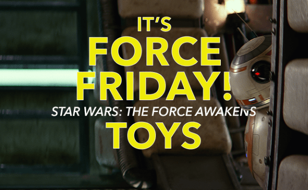 Force Friday Star Wars Toys